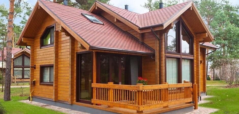 Дом из бруса — экологичность и эффективность