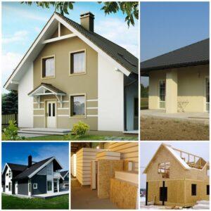 Проекты домов из сип-панелей, сип-панели, быстровозводимый каркасные дома, каркасный дом, под ключ, дом с нуля, дома под ключ
