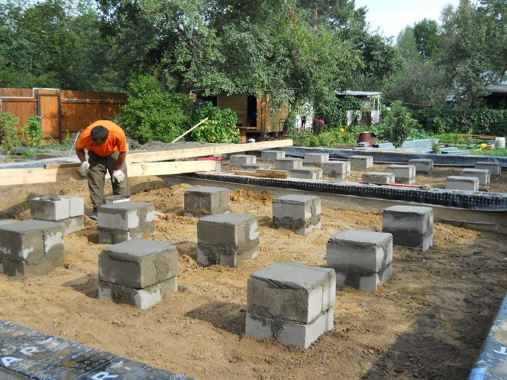 Выбираем тип фундамента для дома фундамент без трещин перекосов деформаций долговечность
