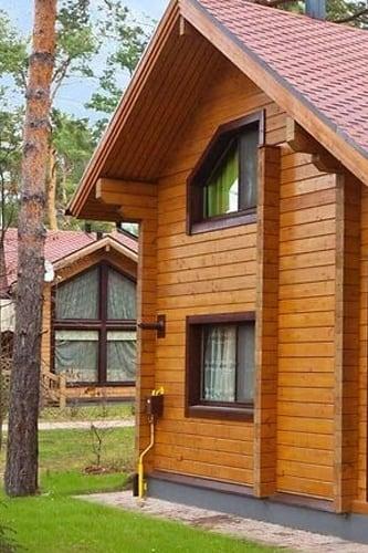 Деревянные дома строительство в Украине, проекты, проект дома, дом из сруба, дерева