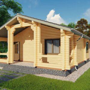 Строительство деревянный дом, под ключ, дом из бруса, сруб, из дерева, деревянные дома, цена, купить, D017