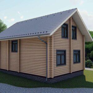 Строительство деревянный дом, под ключ, дом из бруса, сруб, из дерева, деревянные дома, цена, купить, D019