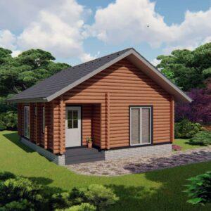 Строительство деревянный дом, под ключ, дом из бруса, сруб, из дерева, деревянные дома, цена, купить, D020